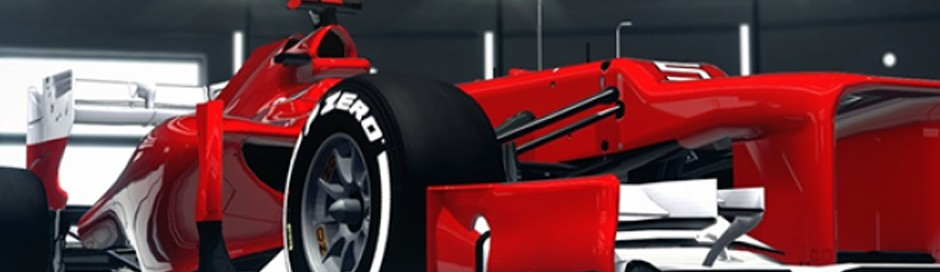 Creating your own F1 2012 livery