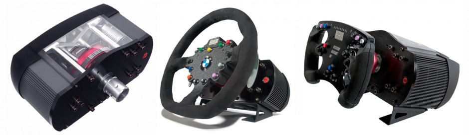 Fanatec ClubSport Base & Rims