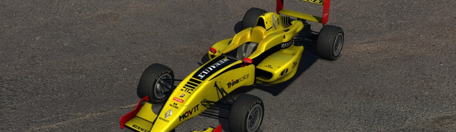 Renault R30 Livery for Formula Abarth