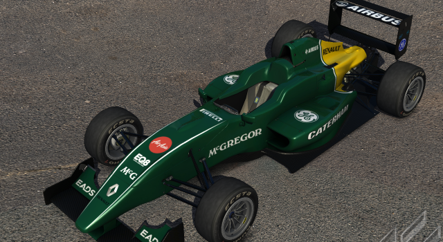 Caterham CT03 for Formula Abarth