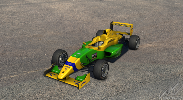 Benetton B193 for Formula Abarth