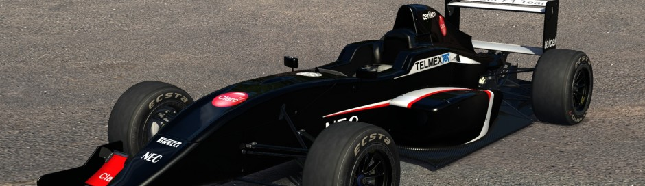 Sauber C32 for Formula Abarth