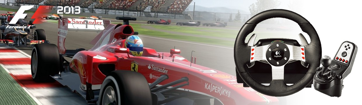 How to get the most out of your setup & G27 wheel in F1 2013